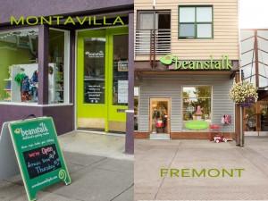 Locations for Beanstalk Children's Resale