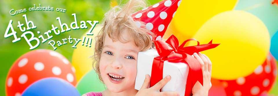 Beanstalk Children's Resale 4th Birthday Celebration