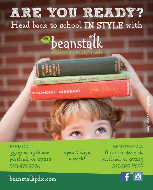 Beanstalk Back to School